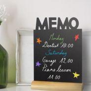 """ARDOISE DE TABLE """"MEMO"""""""