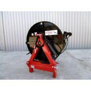 Fag-hy - fagoteuse de bûches hydraulique 1 stère - concept mecano soudure constructeur - basculement par vérin hydraulique