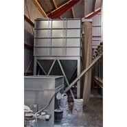 Silo de minéraux - bm silo - capacité maximum de 1100 kg par m3