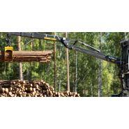 2110 - grues forestière - kesla - à bras droit relève de la catégorie des 10 tonnes/mètres