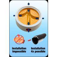 Clapet anti-retour multi-fonction pour canalisation