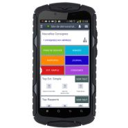 GUARDTEK MPOST : MAIN COURANT MOBILE ANDROID