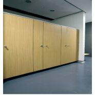 Cabine sanitaire Cabi'susp2050 / hauteur 205 cm / épaisseur parois 13 mm