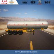 3 axle lng tank semi - remorques citerne - xiamen sunsky trailer co.,ltd - 3 essieux avec réservoir à vide