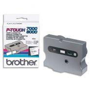 BROTHER CASSETTE RUBAN TX NOIR/BLANC 24MMX15M TX251POUR P-TOUCH 7000/8000/PC