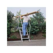 Passerelle - Gentner et fils - Inclinée à 60° largeur utile 600 mm avec 2 escaliers