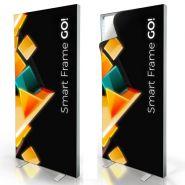 Ssmart frame go - Caisson lumineux - Virtual tech - Eclairé par des leds sans fil - Recto/verso