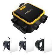 EasyHOME® AUTO -  VMC Ventilation mécanique contrôlée - Aldes - Puissance max consommée mode AUTO / mode BOOST : 14 W / 26 W