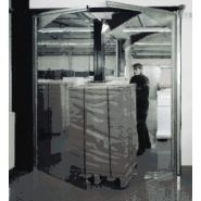 Porte 2 vantaux pour le trafic de chariots élévateurs modèle m