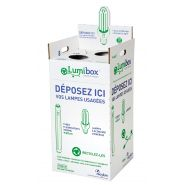 Lumibox : collecte des lampes usagées