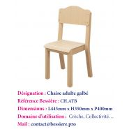 CHAISE TAILLE BASSE