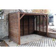 Cahors - Cache-conteneurs et abris poubelle - Citaneo - Essence de bois : Pin
