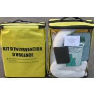 KIT D'INTERVENTION D'URGENCE - ABSORBANTS HYDROCARBURE 22 L