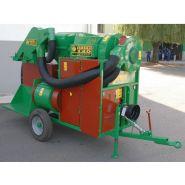 Récolteuse traînée à aspiration CINIMA - FACMA s.r.l - Puissance du moteur 22 à 60 kW - Capacité de récolte 100 à 2500 kg/h