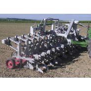 Bineuses agricoles - Agronomic - Vitesse de travail 6 et 10 km/h