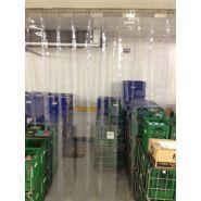 Porte à lanières / transparente / lanières fixes / isolation thermique