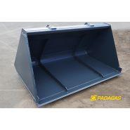 Godet de reprise - padagas - largeur : 2350 à 2440 mm