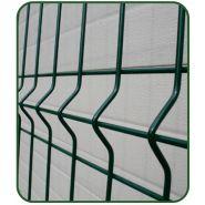 Clôture grillagée - CMM - Fil acier galvanisé  diam. 4 mm