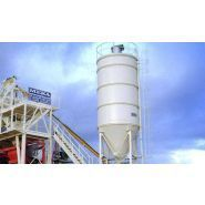 Silos à ciment soudés - meka - capacités de 50 à 120 tonnes