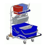 Chariot de nettoyage avec presse à pédale 600541