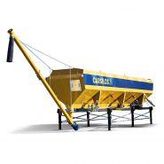 Silo horizontal pour ciment - Carsilos - Carmix - Capacité de stockage de 16 à 36 m3
