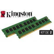 BARRETTE MÉMOIRE 8 GO MODULE ECC (KIT 2X4 GO) - DDR3 1333 MHZ