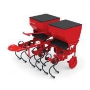 Bineuse avec le dispositif de distributeur d'engrais - Tehnos - Largeur entre les rangs 60-75 cm