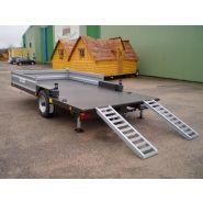 Rp7 surbaissé-remorque porte engin agricole -robust-porte engins rp7 charge utile 6000kg