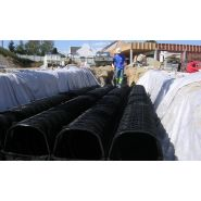 DRAINFIX®TWIN - Tunnel d'infiltration et de rétention - Hauraton - Polypropylene
