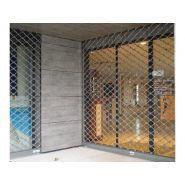 Aucamville - Grille de protection d'entrée - Panella - grille métallique enroulable sur mesure