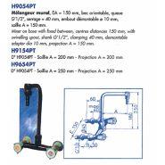 H9654PT - Robinet de laboratoire - LABOTHERM - Saillie 250 mm