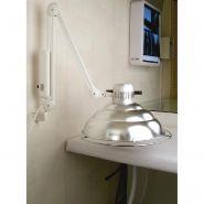 LAMPE INFRAROUGE IRP 400 WATTS - INTERRUPTEUR SIMPLE ET SUPPORT MURALE