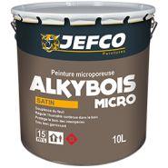 ALKYBOIS MICRO - Peinture microporeuse - JEFCO - Rendement 11 à 12 m²/L