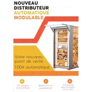 Distributeur automatique de baguettes de pain et de viennoiseries