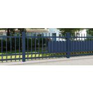 Cl cs 02 - clôture en aluminium - dc design & conception - barreaudage vertical