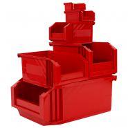 Collection de bacs a bec european - rouge