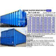 160810 - Benne à déchets - TAM SA - Capacité de 7 à 40 m3