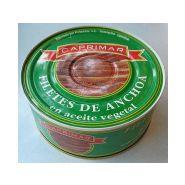 Anchois filets à l'huile boîte 1kg