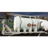 Amovibles - Cuves de transport - Compose - pour le transport de liquides non dangereux
