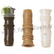 Injecteurs femelles 9,5mm (sans tête) pour traiter le bois lot de 1000 injecteurs