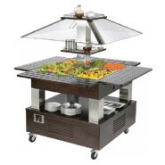 BUFFET BAIN-MARIE - ILOT CENTRAL MOBILE