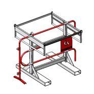 Range-barrieres capacité 30