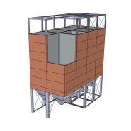 Silo carré - otevanger - capacité de stockage 25 % supérieure