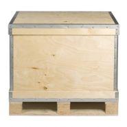 Caisse-palette en bois pliante réutilisable ribox r63/p4