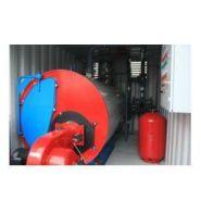 Chaufferie mobile fioul c-1000-f : eau chaude  90°c