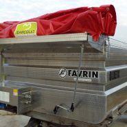 Cuves de transport - Favrin - pour transport raisin/remorque transport raisin