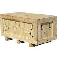 Caisses en bois - dimobox - protection intégrale