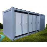 Modulaire 10 douches individuelles - en location - sebach