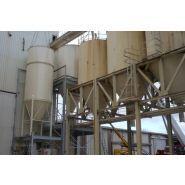 Silos en acier - Kmi - Capacité de 45 à 80 m3