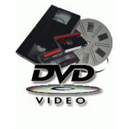 TRANSFERT DE CASSETTES OU BOBINE SUR DVD
